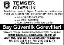 TEMSER-BAY GUVENLIK GOREVLILERI