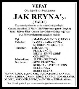 VEFAT - JAK REYNA 4X16